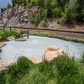 Black Sulpher Spring. - Yampa River Core Trail