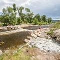 Charlie's Hole on the Yampa Core River Trail.- Yampa River Core Trail