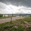 Lakeview sites in the Harebell Loop.- Sunrise Vista Campground