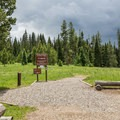 Tombstone Nature Trail Trailhead.- Steamboat Lake State Park