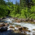 Views of Grizzly Creek.- Grizzly Creek Trail