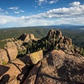 Amazing views from the Devil's Head Fire Lookout.- Devil's Head Lookout