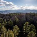 View from Devils Head Fire Lookout.- Devils Head Lookout