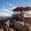 You'll need to climb 143 stairs to Devil's Head Fire Lookout.- Devil's Head Lookout