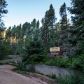 Devil's Head Lookout Trailhead.- Devils Head Campground