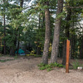 Typical site at Devil's Head Campground.- Devils Head Campground