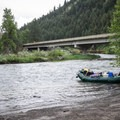 The boat ramp in Minam is located below the confluence of the Wallowa River and the Minam River.- Grande Ronde River: Minam to Troy