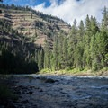 Sheep Creek Rapids (Class II).- Grande Ronde River: Minam to Troy