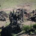 Abstract basalt shapes along the Grande Ronde River.- Grande Ronde River: Minam to Troy