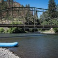 The takeout in Troy.- Grande Ronde River: Minam to Troy
