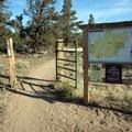 The Maston Trailhead.- Maston Trails Outer Loop