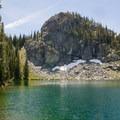 Basin Lake.- Seven Devils: Windy Saddle to Sheep Lake