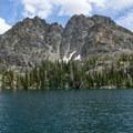 Gem Lake.- Seven Devils: Windy Saddle to Sheep Lake