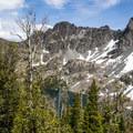 Sheep Lake.- Seven Devils: Windy Saddle to Sheep Lake