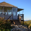Mount Hood to the north.- Gold Butte Lookout
