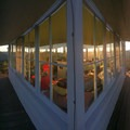 Panoramic windows, of course! Taken from the southwest deck.- Gold Butte Lookout