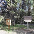 The entrance to Quinn River Campground.- Quinn River Campground