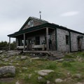 Galehead hut.- The Pemigewasset Loop