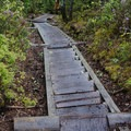 Stairs on Osseo Trail.- The Pemigewasset Loop