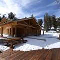 Ancient Bristlecone Forest Visitor Center.- Discovery Trail
