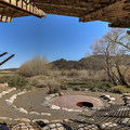 The Nature Conservancy Amphitheater sits at the trail's end.- McCarran Ranch Preserve River Trail