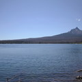 Mount Washington (7,795 ft) towers over Big Lake.- Big Lake Campground