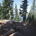 Sites on the west side have limited lakefront access and are relatively secluded.- Big Lake Campground