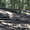 The amphitheater at Cultus Lake Campgroud.- Cultus Lake Campground