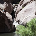 Paradise Cove Swimming Hole, West Fourmile Creek (also known as Guffey Gorge).- Paradise Cove Swimming Hole in Guffey Gorge