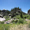West Fourmile Creek Canyon (also known as Guffey Gorge).- Paradise Cove Swimming Hole in Guffey Gorge