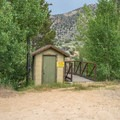 A short trail from the campground.- Fork Campground