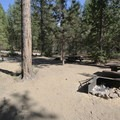 Some campsites are quite close together at West South Twin.- West South Twin Campground