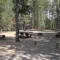 One of three groups sites.- Sheep Bridge Campground