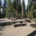 A second of the three group sites.- Sheep Bridge Campground
