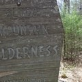 Blood Mountain is in a wilderness area where campfires are prohibited.- Blood Mountain, Freeman Trail Loop