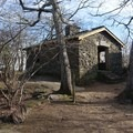 The shelter on Blood Mountain.- Blood Mountain, Freeman Trail Loop