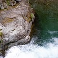 End of the waterfall.- Box Canyon Creek Swimming Hole