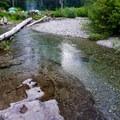 Upper swimming hole.- Box Canyon Creek Swimming Hole