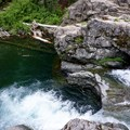 Highest cliff jumping spot.- Box Canyon Creek Swimming Hole