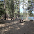 Day use picnic and beach areas- South Twin Lake Campground