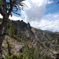 Rock formations of Sepulcher Mountain.- Sepulcher Mountain