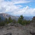 Stunning view of Electric Peak.- Sepulcher Mountain