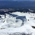 Cooper Spur.- Mount Hood South Route: Flying Buttress and Wy'east Ridge Variation
