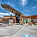 Ash Meadows National Wildlife Refuge visitor center.- Ash Meadows National Wildlife Refuge