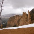 Cathedral Rock.- Bunsen Peak