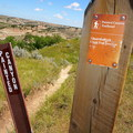 Painted Canyon Trail, Theodore Roosevelt National Park.- Painted Canyon Visitor Center Trails