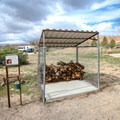 Firewood is available for sale near the campground entrance.- Cathedral Gorge State Park Campground
