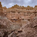 Caves area.- Cathedral Gorge State Park