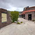 Cathedral Gorge State Park. Visitor Center.- Cathedral Gorge State Park