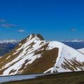 Cabin Mountain.- White Knob Range Traverse
